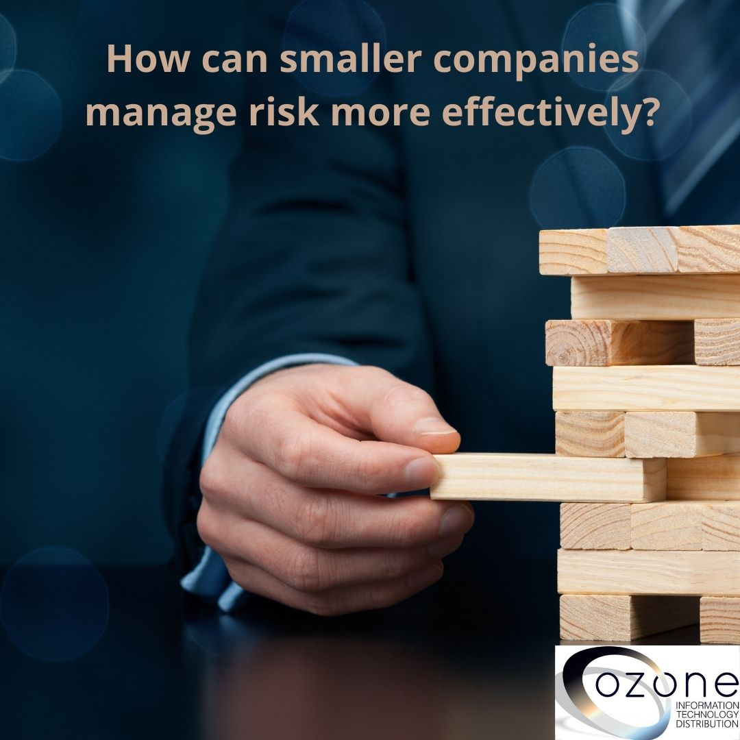 How can smaller companies manage risk more effectively