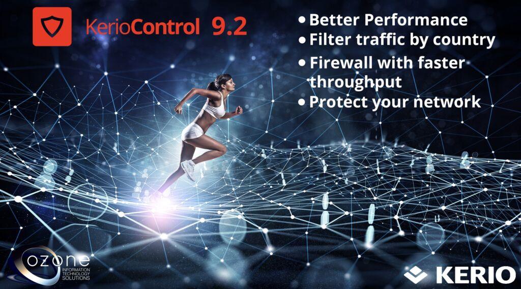 Kerio Control 9 2 brings increased throughput performance